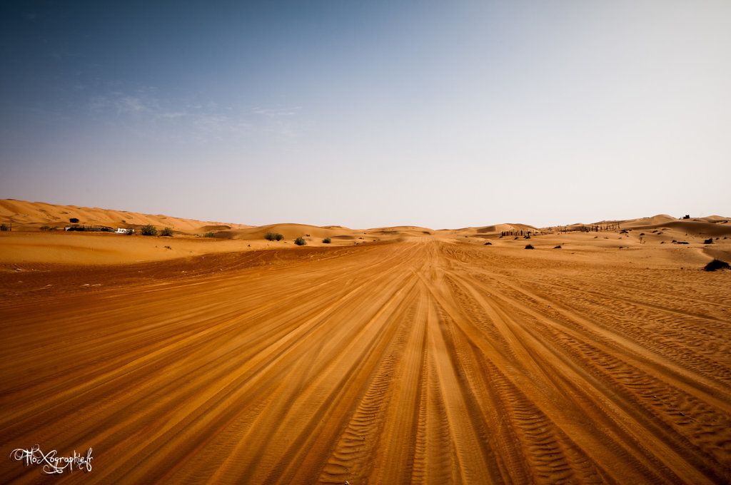 Oman - Wahiba Sands Road