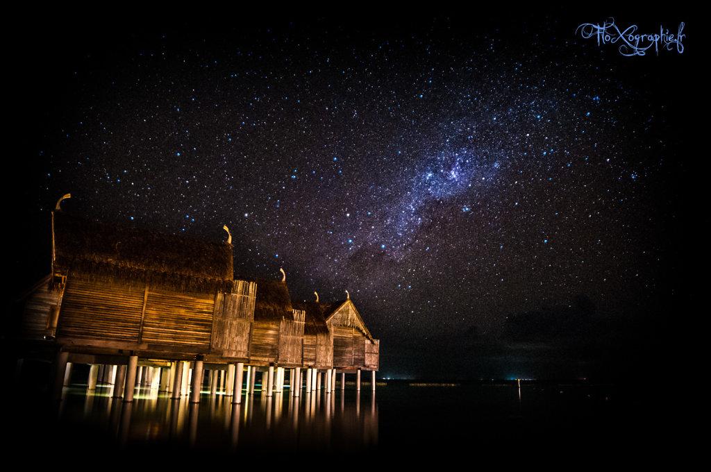 Massage sous les étoiles